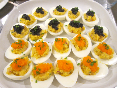 Deviled Eggs With Caviar Eat Live Paleo