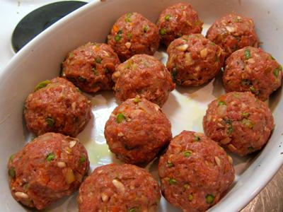 Paleo meatballs oven