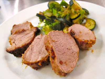 how to cook a simple pork roast
