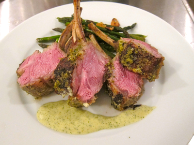 Rosemary/Garlic/Lemon-Crusted Rack of Lamb | eat. live. paleo.