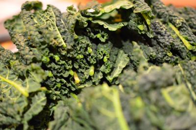 kale - chopped