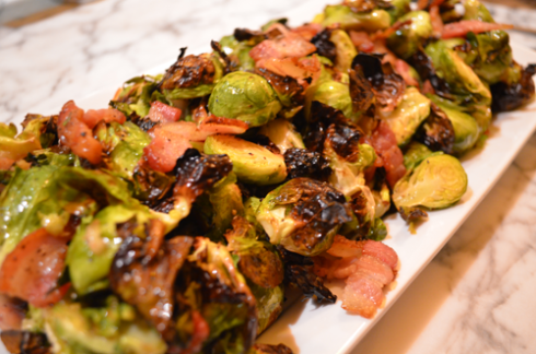 brussels sprouts - plated
