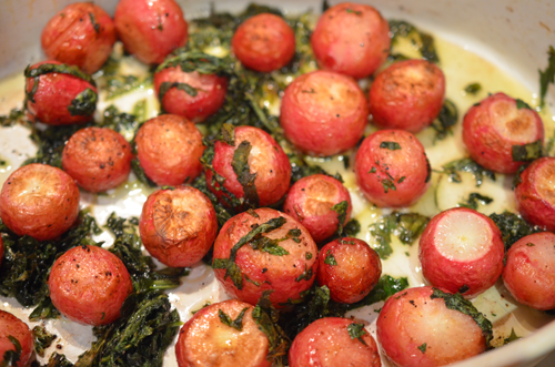 Simple Veg: Roasted Radishes | eat. live. paleo.