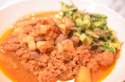 turkey chili - in bowl 2