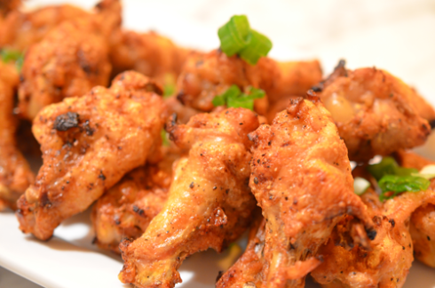 Crispy Spicy Oven Baked Chicken Wings Eat Live Paleo