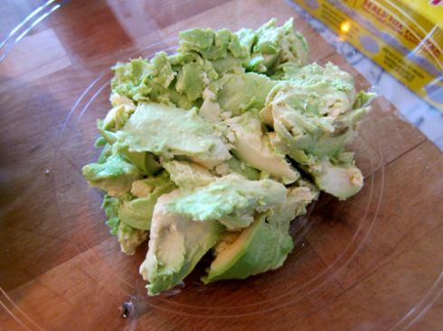 guacamole - avocado