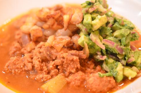 turkey chili - in bowl 1