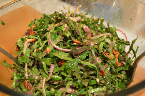 kale salad - mixed