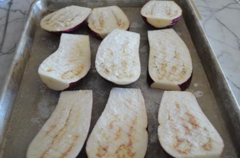 eggplant - salted