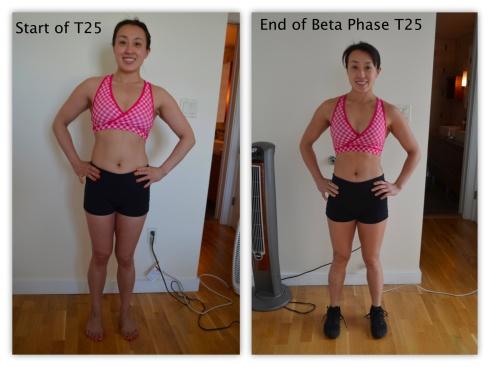 Fitness progress front